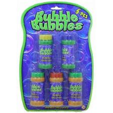 5 paquete de solución de burbujas, Anillo de golpe & Rosca de rellenado para armas de burbuja ty1088