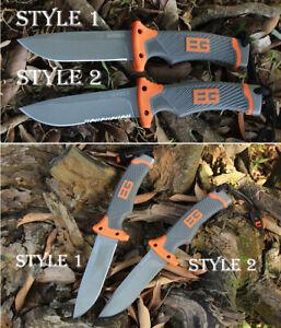 Gerber Grylls Bear Tactical Hunting Combat Camping Survival Knife Sheath USED