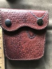 Handcrafted Leather products: Leather Belted Small Carry Purse - Unisex-Omni!!!