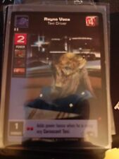 Star Wars Young Jedi Tcg Duel of the Fates Rayno Vaca Taxi Driver NrMt-Mint