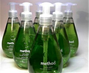 METHOD JUICY PEAR NATURALLY DERIVED HAND WASH (Pack 6)