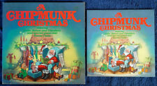 A CHIPMUNK CHRISTMAS - RCA LP + 16 PAGE COLOR BOOKLET - GATEFOLD - 1981