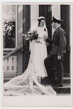 (F1041+) Orig. Foto Wehrmacht-Soldat, Hochzeit, 1940er
