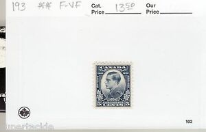 Canada 1932 #193 ** MNH F/VF  5 cent Prince of Wales, Ottawa Conference stamp