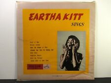 "Eartha Kitt  Victor LS 507  Eartha Kitt Sings  Japanese 10"" Press  Jazz Vocals"