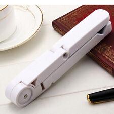 White Foldable Mobile Cell Phone Tablet Desktop Mount Stand Holder