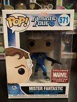 Funko Pop Mister Fantastic #571 Marvel Collector Corps Exclusive