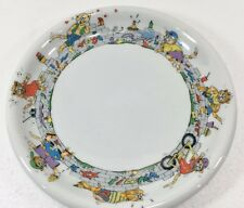 """Eschenbach Bambolino Fuzzy's Naughty Cats Child Plate 8"""" Porcelain Germany"""