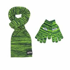 Seattle Seahawks Color Blend Scarf And Glove Set for Women