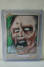 2018 Topps THE WALKING DEAD Road to Alexandria Walker Sketch 1/1 by Chris Thorne