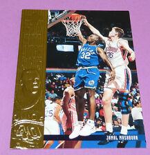 JAMAL MASHBURN DALLAS MAVERICKS UPPER DECK 1995 NBA BASKETBALL CARD
