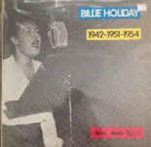 Billie Holiday - 1942/51/54 - Capitol FRA 82 2C06886527M