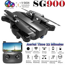 SG900 Wifi FPV Drone Quadcopter Camera Dual RC 720P Remote HD Altitude Foldable