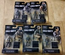 Mega Construx Call of Duty Heroes Complete Black Series [all five figures] NEW!