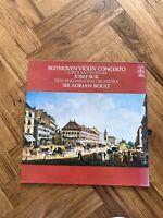 """CFP 4409 - BEETHOVEN - Violin Concerto SUK / BOULT 12"""" Vinyl LP Free UK Postage"""