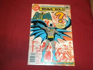 Brave and the Bold #150 dc 1979 bronze age 6.0/fn comic! JOKER!
