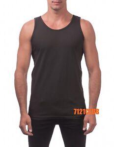 PRO CLUB TANK TOP HEAVYWEIGHT SLEEVELESS T SHIRTS PROCLUB MEN'S MUSCLE TEE M-5XL