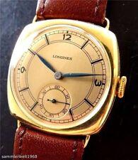 Longines Armbanduhren mit Gelbgold