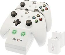 Estación base de Doble Doble Cargador Batería Recargable paquetes de juguete de los controladores de Xbox
