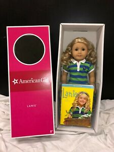 """American Girl Doll Lanie - 18"""" Girl of the Year 2010 With Book & Box"""