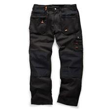 Scruffs WORKER PLUS Trousers %7c Trade Hard Wearing Work Trousers BLACK