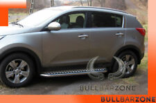 KIA SPORTAGE III 2010-2015 MARCHE-PIEDS INOX PLAT / PROTECTIONS LATERALES