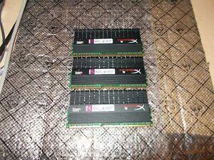 6GB (2GBx3) Kingston HyperX t1 PC3-12800 NON ECC DDR3 Ram KHX1600C9D3T1BK3/6GX