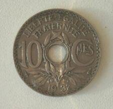 République Française 10 centimes Lindauer 1932.
