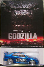 Hot Wheels a medida HONDA Civic Si Godzilla Real Riders Limitado 1/25 Made