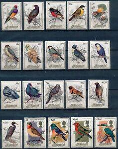 [P15621] Aitutaki 1984 : Birds - Good Set Very Fine MNH Stamps - $85