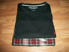 Nautica Mens 2-Piece Pajama Set Large NWT $70