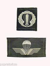 Set Fregio per Portoghese Mimetico Vegetato con Brevetto Paracadutista Militare