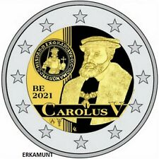 2x2 Euro BELGIEN 2021 coincard NL/FR 500 Jahre Karlsgulden  VVK