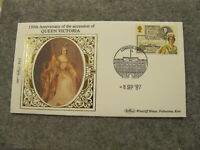 Ltd Edt Benham First Day Cover / FDC -1987 Queen Victoria 150 Anniversary - BS22