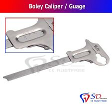 Boley Gauge Dental Sliding Caliper Orthodontic Instruments Vernier Caliper New