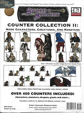 DUNGEONS & DRAGONS D20 SWORD & SORCERY - Counter Collection II NEW *RPG*