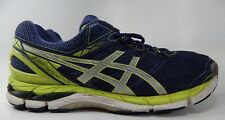 Asics GT 3000 v 4 Size US 13 M (D) EU 48 Men's Running Shoes Green Blue T604N