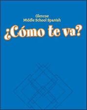 Cmo te va? Level B Nivel azul, Workbook (GLENCOE SPANISH) (Spanish Edition)