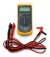 Fluke 705 Ma Loop Calibrator Withtest Leads Amp Insulated Alligator Clip Adapters Cp