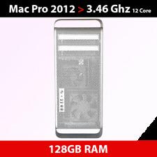 Mid 2012 Mac Pro   3.46GHz 12-core   128GB RAM   512GB SSD+1TB HDD   ATI 5770