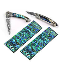 2PC 140mm Abalone Shell Acrylic Slabs Knife Handle Making Material For DIY Craft