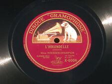 Bach Daquin Marguerite Roesgen-Champion 78 trs  RPM - 25 cm / 10 ' (10 inch)