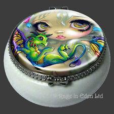 DARLING DRAGONLING Strangeling Fairy Mini Trinket Box By Jasmine Becket-Griffith