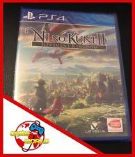 NI NO KUNI II 2 - gioco PS4 Playstation 4 - ITALIANO - Nuovo