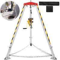 Spazio Ristretto Rescue Treppiedi In Alluminio 1,34-2,15M con Verricello Kit