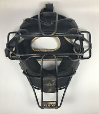 All Star Black Traditional Catchers Mask With Luc Pads