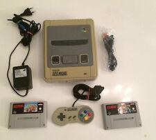 SNES Super Nintendo 1 Chip Version + Super Mario Kart & Super Mario All Stars