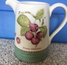 Wedgwood Sarahs Garden 1997 Creamer Pitcher Plum Green