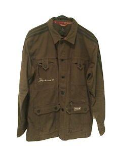 Adidas Muhammad Ali Heavy Jacket 100% Cotton - Brown/Black - Medium