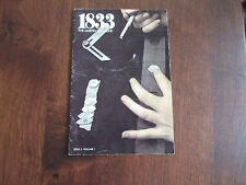 1833 THE MARTIN MAGAZINE - ISSUE 2 VOLUME 1 - ACOUSTIC GUITAR CATALOG FROM 1973